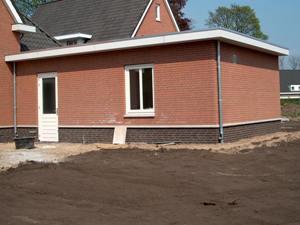 Casadata bouwkosten nieuwbouw garage 1 laags met plat for Bouwkosten per m3