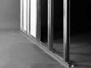 Metal stud wand plaatsen in de hal van mijn huis - Schorsing stijl atelier ...
