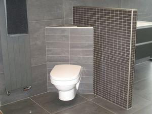 Inloopdouche Met Wastafelblad : Casadata badkamer renoveren met douche wastafel toilet en