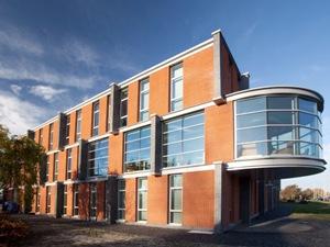 Casadata bouwkosten nieuwbouw kantoorgebouw 4 laags met for Bouwkosten per m3